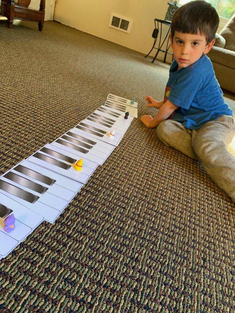 Piano lessons preschool kids
