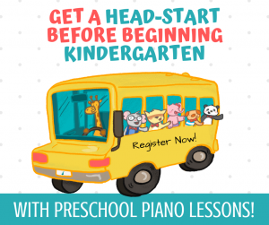 Preschool piano lessons wenatchee