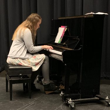 A stunning senior recital showcased works of Bach, Debussy, and Schumann.